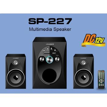 LEADDER 2.1 speaker subwoofer With Bluetooth black SP-227